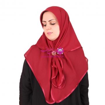 روسری صدف ساده 1109