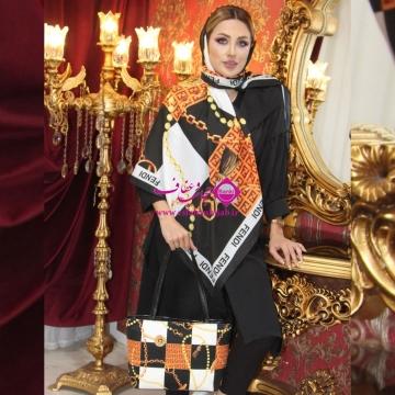 ست کیف و روسری کلاسیک K 29